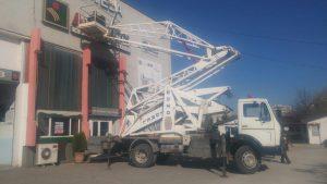 Автовишка под наем в Пловдив на разумни цени